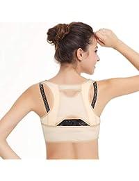 isermeo Sujetador Corrector de Postura con Soporte de Espalda en Para Mujer - L