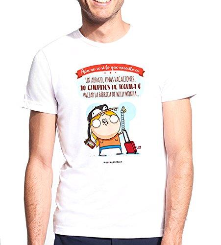Missborderlike - Camiseta Hombre - Aún no sé si lo que necesito es un abrazo,...