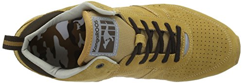 KangaROOS Frenzy Roos 001, Espadrilles Homme Marron (Wheat/Dk Brown 134)
