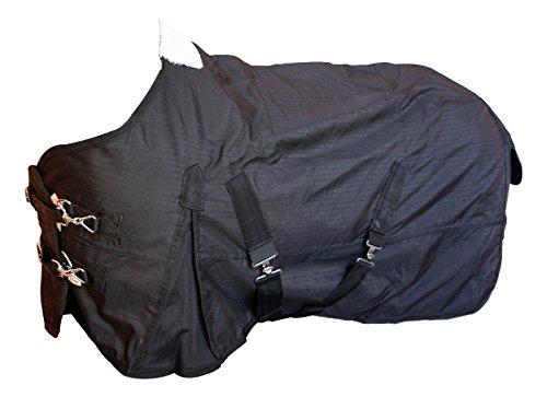 Transportdecke Stalldecke mit Nyloninnenfutter 600D schwarz 95cm