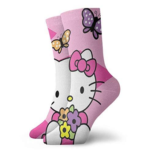 Hello Kitty Socken - Greatbe Hello Kitty Socken Atmungsaktive Damen