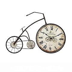 Idea Regalo - Creative Light-orologio da parete Retro soggiorno Ornamenti Camera da letto Simulazione di originalità Bicicletta Orologio da parete E