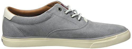 Tommy Hilfiger W2285ilkes 2b, Sneakers Basses Homme Gris (Light Grey 007)