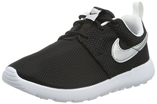 Nike Jungen Roshe One (Ps) Turnschuhe Schwarz (Nero (Black/Metallic Silver/White/White)Black/Metallic Silver/White/White)