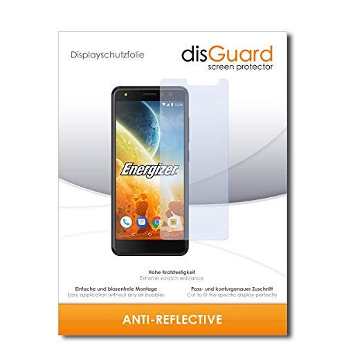 disGuard® Bildschirmschutzfolie [Anti-Reflex] kompatibel mit Energizer Power Max P490S [2 Stück] Entspiegelnd, Matt, Antireflektierend, Extrem Kratzfest, Anti-Fingerabdruck - Schutzfolie