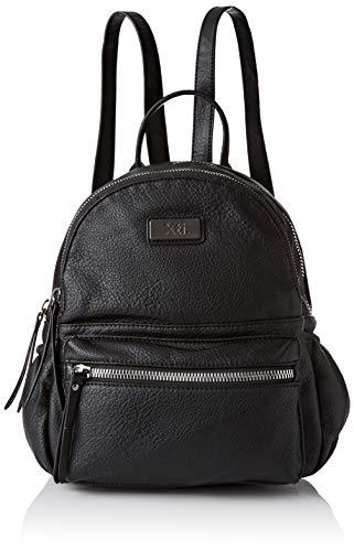 XTI 86173, Bolso mochila para Mujer, (Negro), 23x32x13 cm (W x H x L)