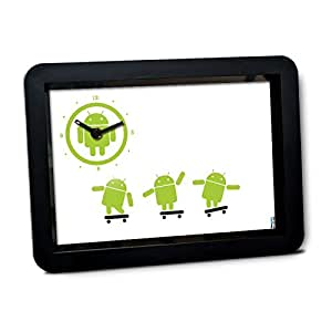 Android Dance Wall clock