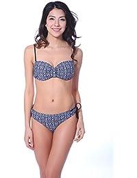 Winkee 30152 Bandeau Push-up Bikini set