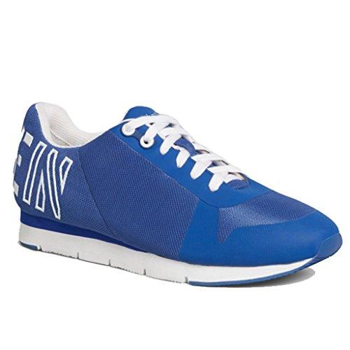 Calvin Klein Jeans , Baskets mode pour homme Bleu