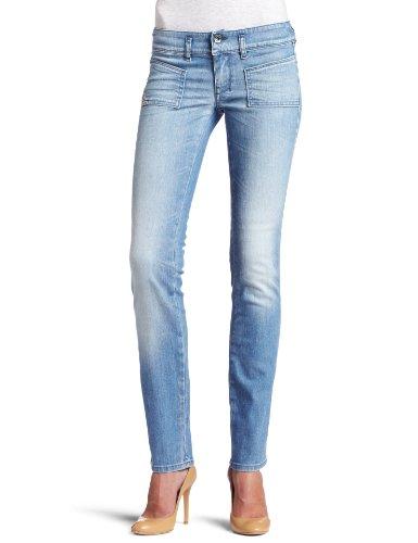 Diesel - Jeans Donna HUSHY 8XN - Slim - Ankle Length - Blu, W28 / L34