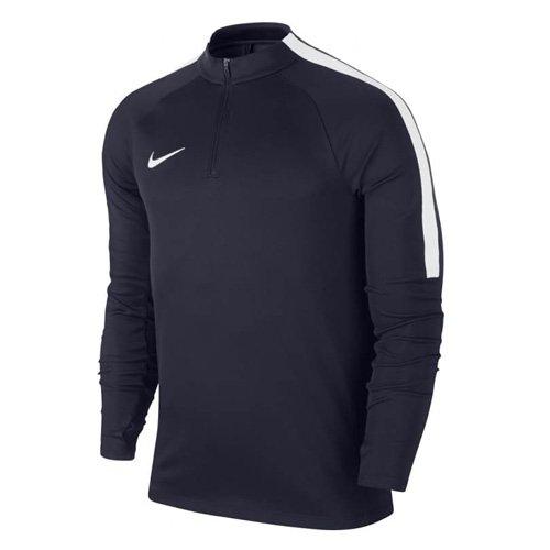 Nike Jungen Squad 17 Drill Top Long Sleeve Youth Trainingstrikot, Obsidian/White, S -