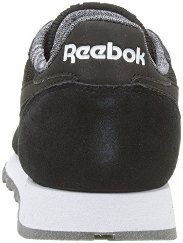 Reebok Cl Leather Nm, Scarpe da Fitness Uomo Nero (Black / White)
