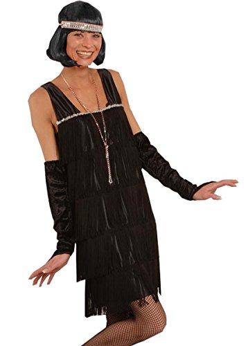 Kostüm -Twenties-, schwarz 36-38 (Clever Kinder Halloween Kostüme)