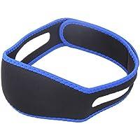 EROSPA® Anti-Schnarch-Kienriemen - Soft Neopren Material - Damen Herren Unisex - schwarz / blau preisvergleich bei billige-tabletten.eu