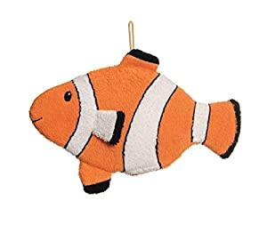 Egmont Toys- Manopla baño, Color Naranja y Blanco (E110087)