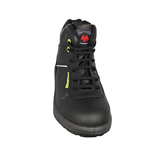Aimont PL03 O2 SRC FO Arbeitsschuhe Trekkingschuhe hoch Schwarz Schwarz
