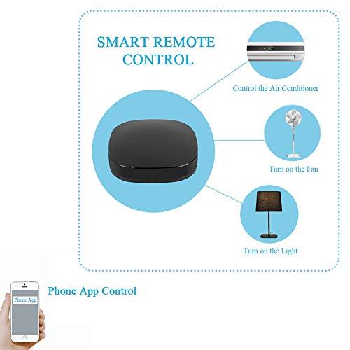 Tonysa Universal Smart Home Remote Control IR WiFi RF automático para Alexa  Google Assistant 5V 1A Micro USB WiFi 2 4GHz 802 11b / g/n