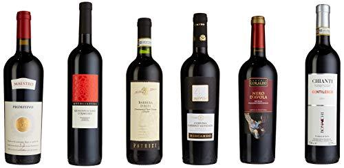 Weinpaket \'Rotweinreise durch Italien\' (6 x 0.75 l)