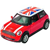 Toyhouse 1:32 DIE-CAST Pull Back Car For Children With Light And Sound Red