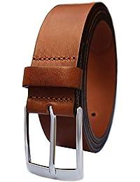 238e4e844bc974 PREMIUM Ledergürtel für Herren aus 100% Echt-Leder in schwarz, braun,  cognac und blau - Herrengürtel - Gürtel…