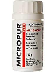 Micropur forte, mf 10, 000 p, 100 g de agua limpia