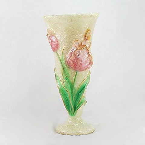 midtawer Artware resina; soggiorno arredato con vasi