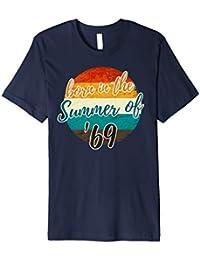 50. Geburtstag T Shirt Geschenk Summer of 69 Mama Papa