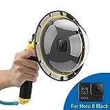 Linghuang Dome Port behuizing waterdicht voor GoPro Hero 8 Black Diving Fotografy Accessoires