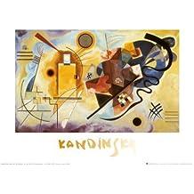 Lámina 'Amarillo, rojo, azul, c.1925', de Wassily Kandinsky, Tamaño: 30 x 24 cm