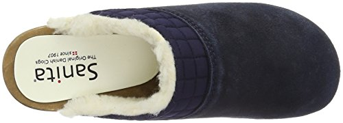 Sanita Severine Open, Zoccoli Donna Blu (Blau (Navy 29))