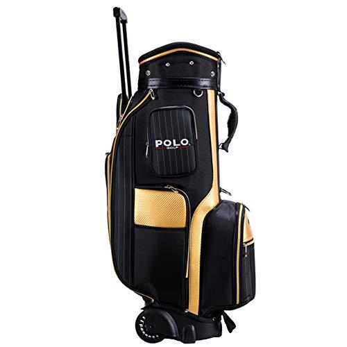 LXYIUN Golftasche,Verein Ausstattungspaketrad Trolley-Tasche
