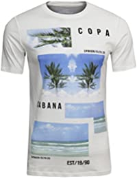 JACK & JONES Herren Freizeit/Sport/Club T-Shirt Beach Tee