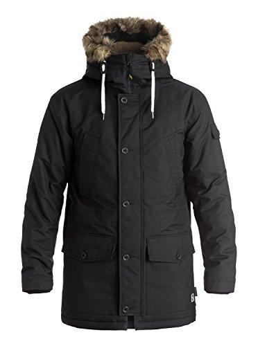 quiksilver-camiseta-ferris-parka-chaquetas-pequeno-color-negro