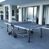 Table de Ping Pong 400M CROSSOVER OUTDOOR- Gris, Votre table livrée montée +75 - Non