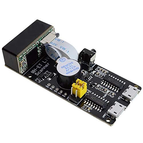 SODIAL Qr / 1D / 2D / Code Scanner V3.0 Barcode Scan Erkennungs Modul Serielle Kommunikation Uart Schnittstelle USB Tastatur Eingabe