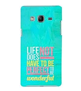 EPICCASE perfect life Mobile Back Case Cover For Samsung Tizen Z3 (Designer Case)