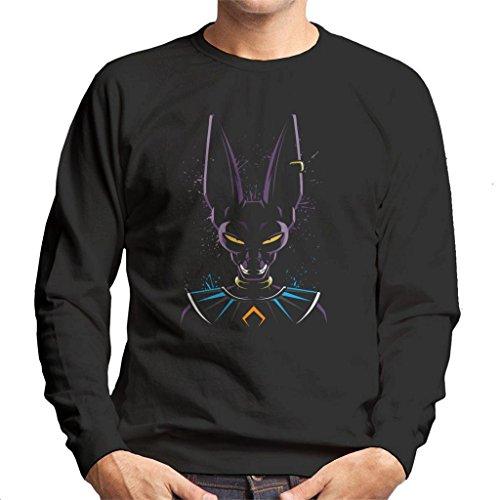 Cloud City 7 Dragon Ball Z Beerus Paint Splatter Men's Sweatshirt