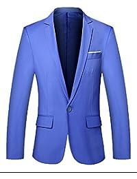 eed4d7e72270 Homme Veste Blazer Slim Fit Manteau Jacket Costume Casual Pour Affaires  Mariage