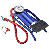 Onshoppy Foot Pump 100 PSI Tyre AirPump for Car and Bike
