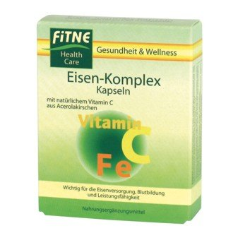 Fitne Eisen-Complex Kapseln 30St.