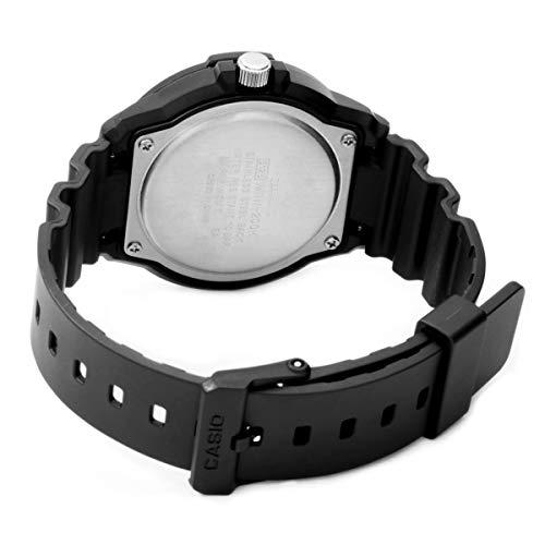 Casio Herren Analog Quarz mit Resin Armbanduhr MRW 200H 1BVES