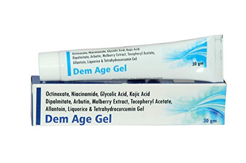 AESDER Dem Gel Anti Freckles Whitening Depigmentation Cream, Reduces Melasma and Age Spots (30 gm)