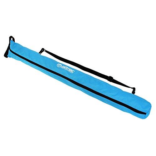 ATTRAC Nordic Walking Tasche 2 in 1 I Stocktasche Transport Aufbewahrungstasche I Pole Bag Blau superleicht (Blau) (Escrima Tasche)