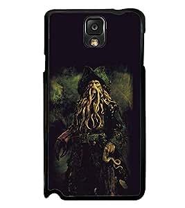 Fuson Designer Back Case Cover for Samsung Galaxy Note 3 :: Samsung Galaxy Note Iii :: Samsung Galaxy Note 3 N9002 :: Samsung Galaxy Note 3 N9000 N9005 (fictional villain after life Cold Dead Man's Chest Jack Sparrow)