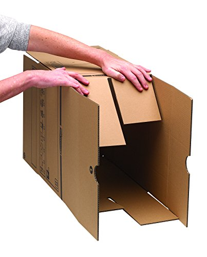 Bankers Box Umzugsbox SmoothMove klein (aus 100% recyceltem Karton, 10er Packung) braun - 5
