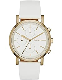 DKNY Damen-Armbanduhr Soho Chronograph Quarz Leder NY2337