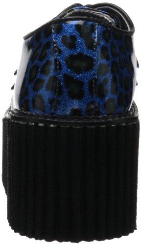 Demonia , chaussures classiques femme Bleu