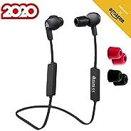 KLIM Pulse Bluetooth 4.1 In-Ear Kopfhörer - Neue 2020 - Kabellose Kopfhörer – Geräuschreduzierung – Perfekt für Sport, Musik
