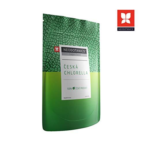 NEOBOTANICS® Premium Bio Chlorella Pulver - 90 g - vegan - raw- Organic Food - hoher Chlorophyllgehalt - Basisch – Rohkostqualität - Körperentgiftung DE-ÖKO-006) Praktische Zipp-Verpackung