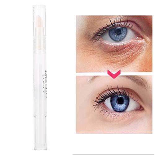 Hyaluronic Acid Eye Serum Erfrischendes Hyaluronsäure Augenserum, Augengel Augencreme Augen Serum Antialterung Augensencreme zur Behandlung für dunkle Augenringe, Schwellungen und Fältchen 5ml